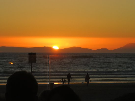 Strand, África do Sul: Sundowner