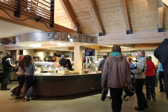 Snowmass Village, CO: Marketplace Servery