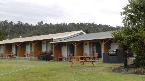 Bicheno, Australia: Zimmer im hinteren Teil der Anlage