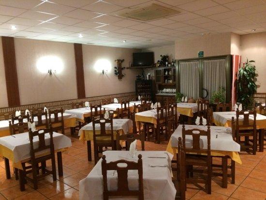 La Puebla de Montalban, İspanya: Restaurante Aranda