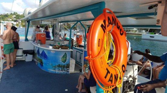 Gros Islet, St. Lucia: All Aboard Mango Tango!