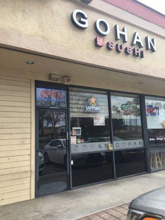 Tustin, CA: Gohan Sushi