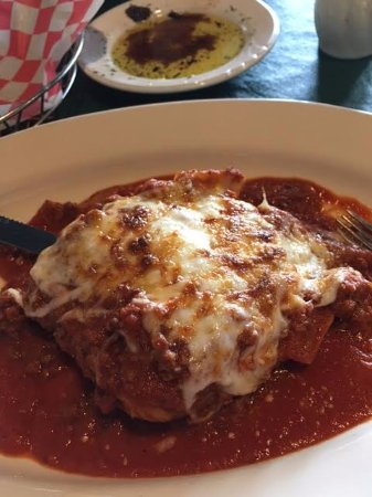 Clayton, Carolina do Norte: lasagna