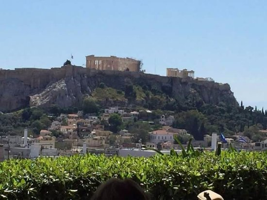 View From The Roof Garden Picture Of The Zillers Athens Tripadvisor