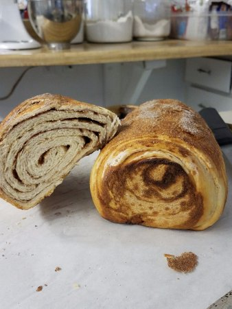 Windflower Inn: Homemade cinnamon bread