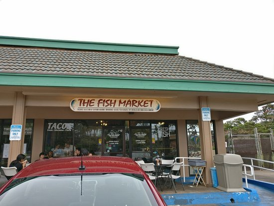 Best lunch dinner on maui picture of fish market maui for Fish market maui