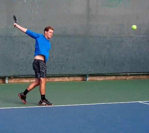 Dial Jones Tennis Academy: Hunter  USPTA Pro at DJTA