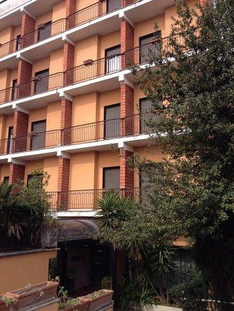 Astor Hotel: ingresso