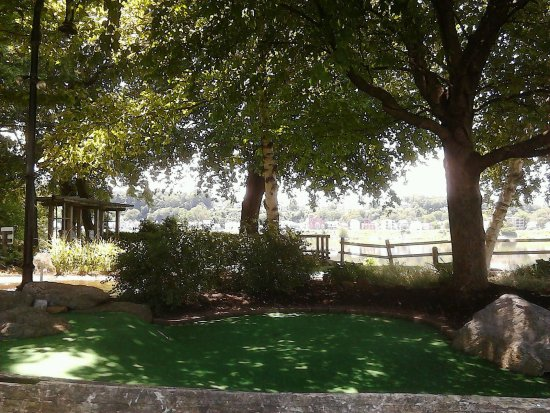 City Island: Beautiful Views Of The Susquehanna River From The Mini Golf Course!!