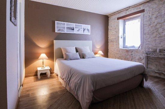 """Lamotte-du-Rhone, France : """"Rêve de sable"""" chambre de 2 à 3 Personnes à l'étage avec terrasse"""