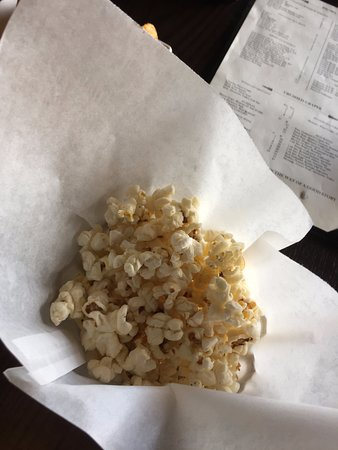 The Villages, FL: late served popcorn