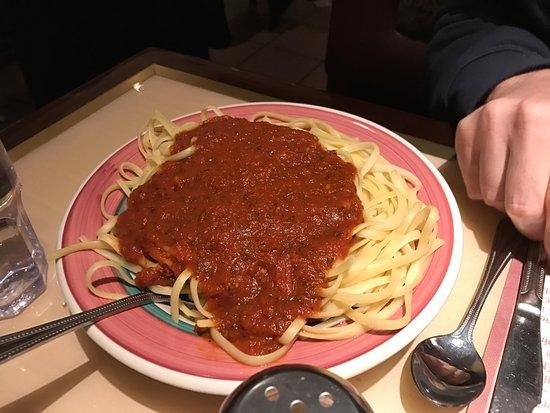 Edison, NJ: Side of pasta