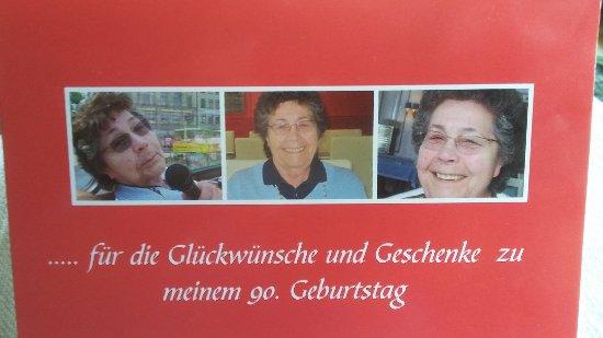 """Büchenbach, Deutschland: 90. Geburtstag beim """"Heyder"""""""