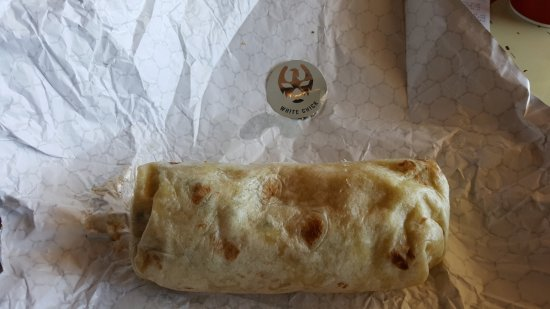 Woodbridge, VA: White Chick Burrito