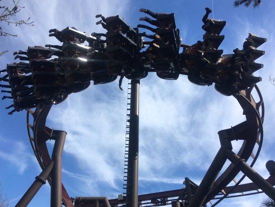 Chertsey, UK: Exciting and exhilarating day at Thorpe Park!!