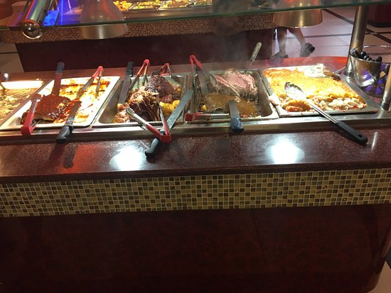 Hibachi Buffet: Meat, ribs