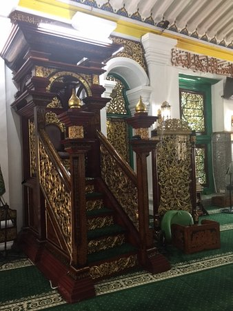 Great Mosque of Palembang: Mimbar Khatib