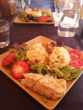 Lititz, PA: Their Curried Chicken Salad With Candied Pecans & Herbed Scone Is Amazing!