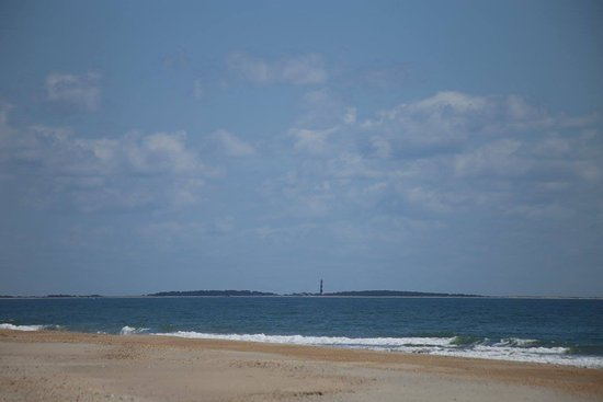 Beaufort, NC: Cape Lookout lighthouse in the distance