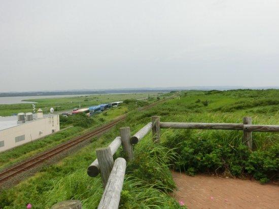 Koshimizu-cho, Japon : 小清水原生花園から見た