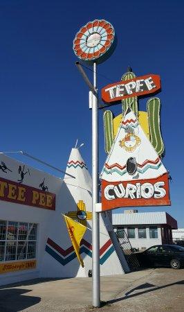 Τουκουμκάρι, Νέο Μεξικό: Entrance
