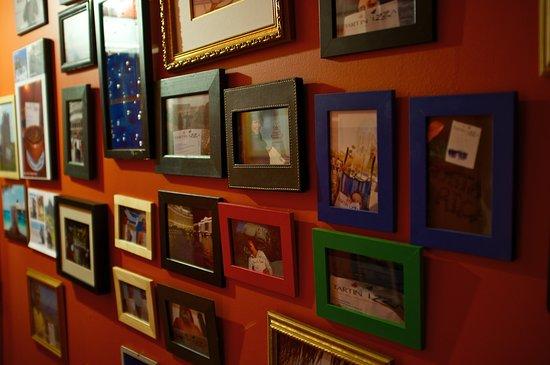 Sutton, كندا:  Nos clients font voyager notre menu, Londres, Paris, en plongée dans les Caraïbes, le Grand Can