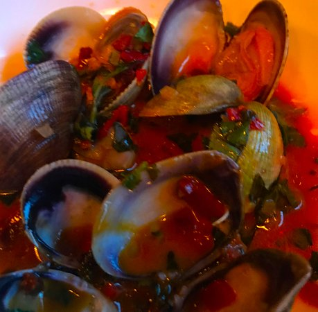 Barcelona Wine Bar Waypointe: clams - these were the best
