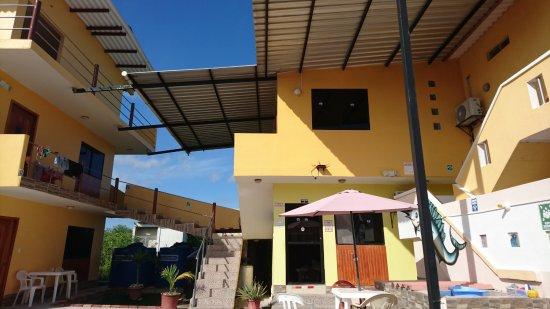 Пуерто-Бакерисо-Морено, Эквадор: Se puede apreciar son como mini apartamentos con todas las comodidades.