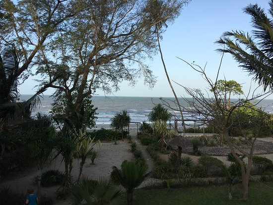 Bagamoyo, Tanzania: View of Indian Ocean from Hotel