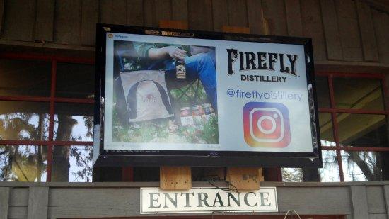 Wadmalaw Island, Carolina del Sur: Firefly Distillery