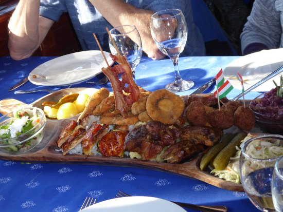 Godollo, Hungary: Food extravaganza!