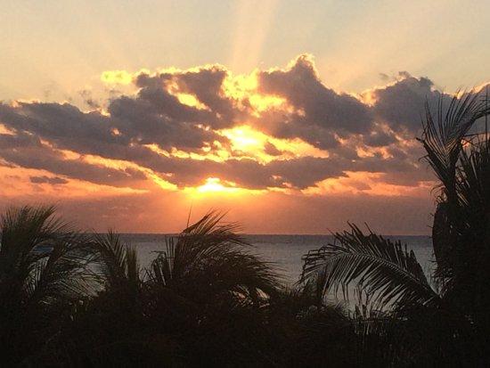 Viva Wyndham Maya : beautiful sunsets