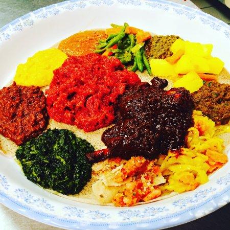 Herndon, Wirginia: Enatye Ethiopian Restaurant