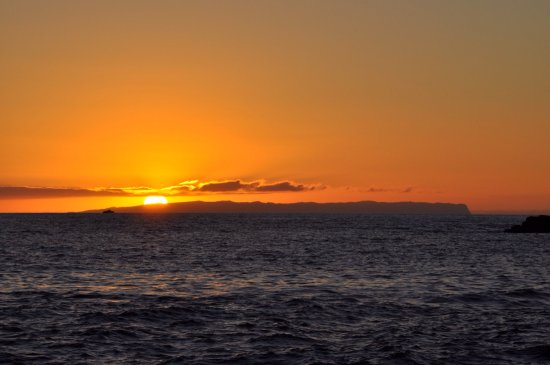 Hanapepe, HI: We drove west each night to find great views of the sunset.The beach by the salt pond had a view