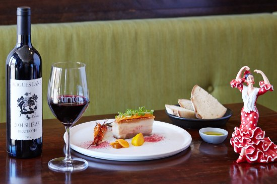 Hawthorn, Australie : Vino Tinto and Pork Belly