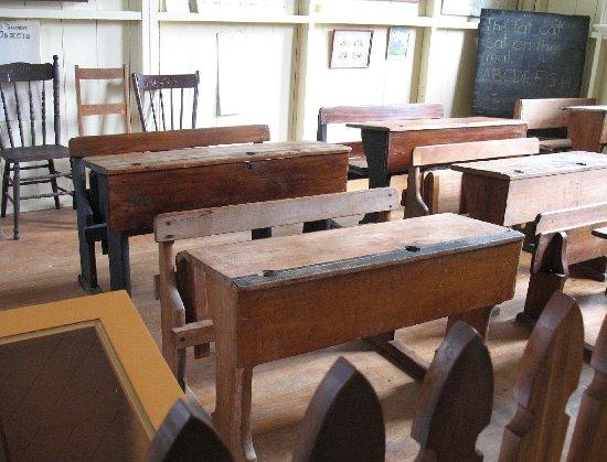 Matamata, Nieuw-Zeeland: Old Fashioned School room