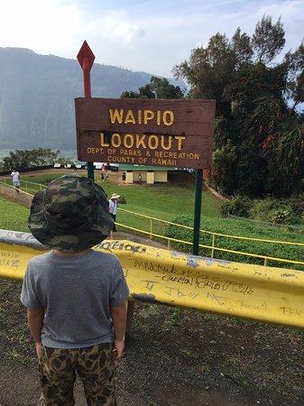 Honokaa, Hawái: ワイピオ渓谷展望台
