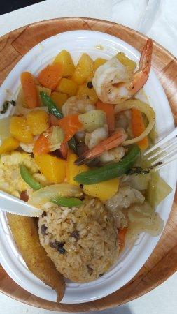 Brunswick, GA: Brown stew with shrimp