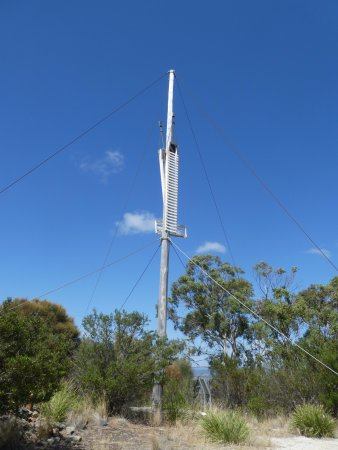 George Town, Australia: Semaphore at Mt George Lookout