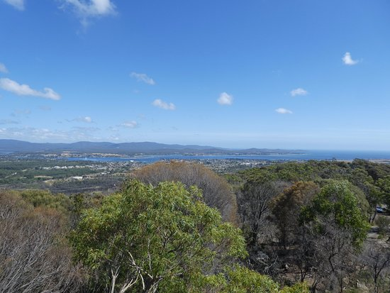 George Town, Australia: View out to the mouth of the Tamar River