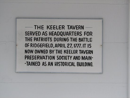Ridgefield, CT: informational sign
