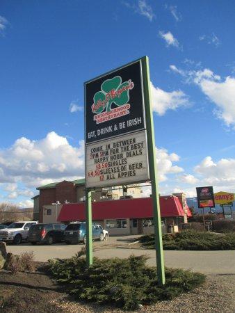 Βέρνον, Καναδάς: signage