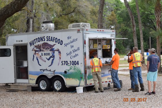 Saint Marks, Φλόριντα: Huttons Seafood Truck