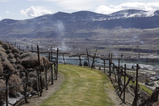 East Wenatchee, WA: Great walking path around the property. Grab some wine and enjoy the outstanding views!
