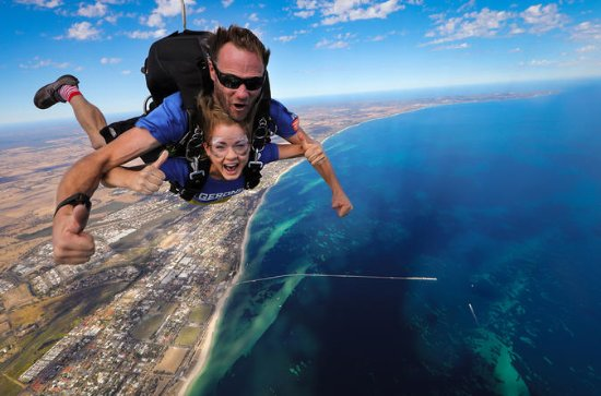 Tandem Skydive über Busselton und...
