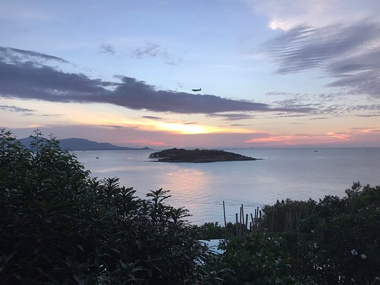 Six Senses Samui : sunset view from Top Hill