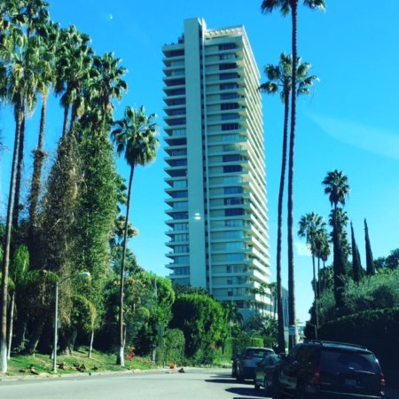 Sierra Towers is the celebrity heavy condominium complex in West Hollywood and Beverly Hills.