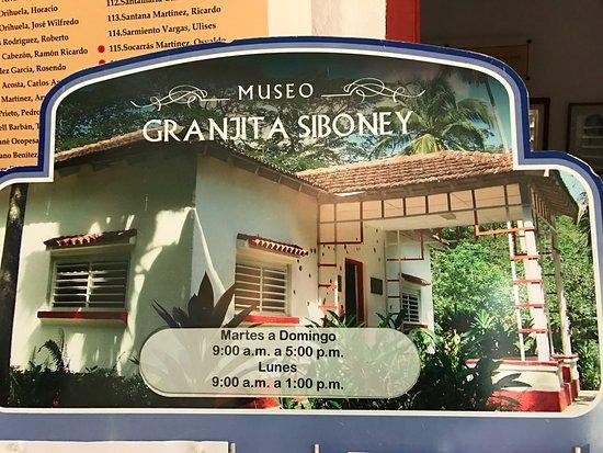 Granjita Siboney: Horarios de atencion