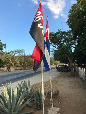 Granjita Siboney: Puerta de acceso
