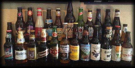 Idyllwild, Kalifornia: 30+ Bottled Beers!